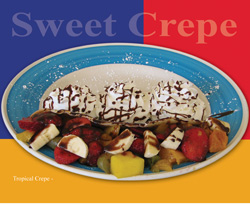 The French Crepe - Tropical Crepe